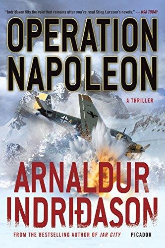 Operation Napoleon: A Thriller (Reykjavik Thriller) by Arnaldur Indridason (2012-05-08)