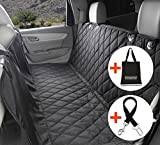 Dog Seat Cover For Cars - Waterproof Nonslip Backing With Seat Anchors, 148cm