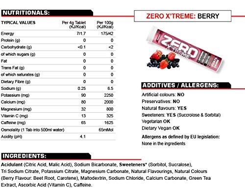 High 5 Zero Xtreme Berry 20 tablet