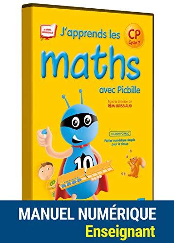 J'apprends les maths avec Picbille CP - Fichier de l'élève