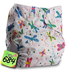 New Product Baby Washable Reusable Real Cloth Pocket Nappy Diaper Cover Wrap, suits Birth to Potty One Size Nappy Diaper Cover