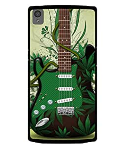 Fuson Designer Back Case Cover for OnePlus X :: One Plus X (Artistic Painted Greenary Full Cover Unique Girls)