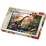Trefl quot;Dinosaurier Land Puzzle (100, mehrfarbig)