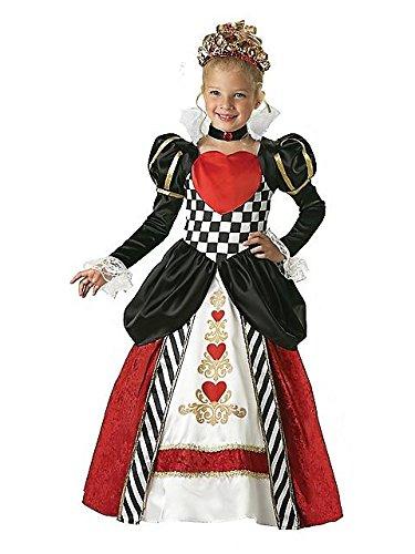 Königin der Herzen Kinderkostüm - 4 / 98-104cm