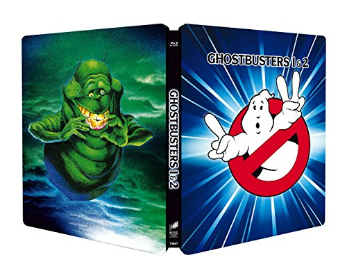 Ghostbusters Collection 1-2 (Steelbook) (2 Blu-Ray) [Italia] [Blu-ray]
