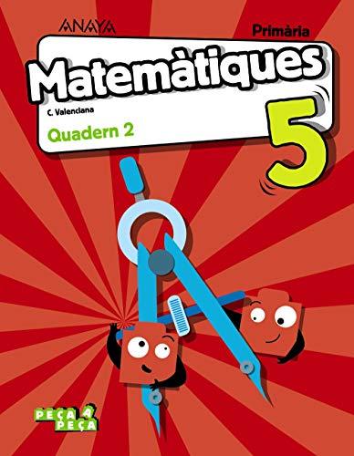 Matemàtiques 5. Quadern 2. (Peça a peça)
