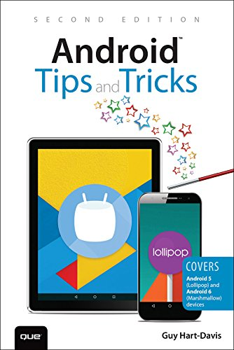 Android Tips and Tricks: Covers Android 5 and Android 6 devices (English Edition)