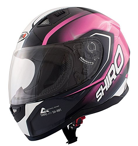 Casco Shiro Sh881 Motegi Rosa (M)