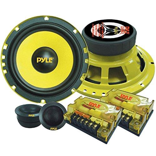 SYSTEM 2 STRASSEN PYLE PLG6C LAUTSPRECHER DIFFUSERS VON 400 WATT RMS UND 800 WATT MAX VON 6,5