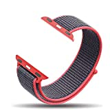 ProElite Nylon Replacement 42mm Watch Wrist Band for Apple Watch Series 1, 2