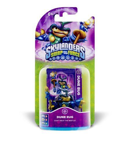 Skylanders Swap Force - Single Character - New Core - Dune Bug (Bug Figur)