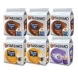 Tassimo Maxwell House Choco / Caramel / Milka Hot Chocolate dosettes de café souples, lot de 6
