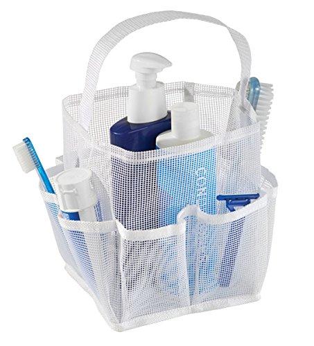mDesign Cesta para ducha para guardar champu, gel, jabón y más - Rep