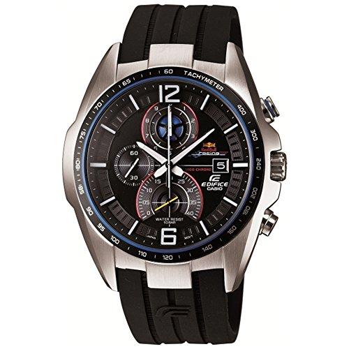 Casio Herren-Armbanduhr Edifice Chronograph Quarz Resin EFR-528RBP-1AUER