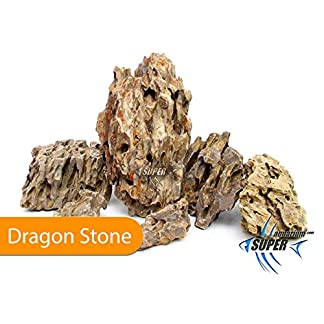 SUPER AQUARIUM LTD (10Kg) Aquarium Tropical Fish Tank Dragon Stone, Rock Natural Decor Ornament Terrarium Aquarium… 12