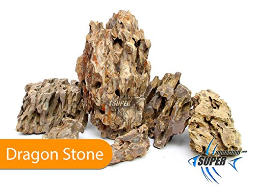 SUPER AQUARIUM LTD (10Kg) Aquarium Tropical Fish Tank Dragon Stone, Rock Natural Decor Ornament Terrarium Aquarium… 1