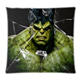 VintaStore Cool Printting Incredible Hulk Home Textile Bettwäsche Custom Zwei Seiten Hülle Kissen Fall, 18x18inch