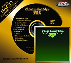Close to the Edge [Hybrid SACD, SACD]