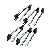 Aexit Connettore 12V 10 V / 24 V 4-Pin Relay Socket Harness Holder per camion auto ID: 246482