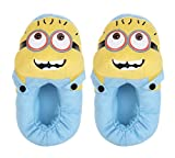 #10: Care Case Minion Shoes Minion Plush Slippers Toy - Minion Gifts (Fits Indian Size 5-8) Yellow And Blue