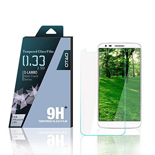 OTAO Ultra-Edition Explosion Premium 0.3ml Dünn LG G2 Displayschutzfolie Gehärtetes Glas Displayschutzfolie Lg G2 Verizon
