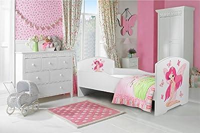 """La cama infantil """"hada"""" cama para niños infantil el tamaño 160x80 con el colchón"""