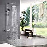 STARBATH Colonna doccia termostatica Set doccia, Sistema doccia con termostato