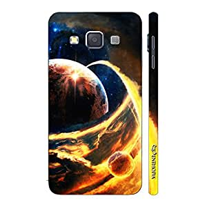 Enthopia Designer Hardshell Case Jupiter compared to Earth Back Cover for Samsung Galaxy A3 2015
