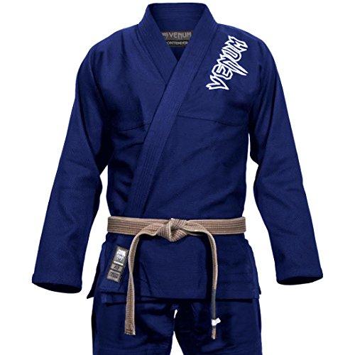 El kimono Venum BJJ Gi Contender2.0: másduradero y cómodo que el modelo anterior. La chaqueta está hecha de 100 % algodón en tejido de perla y ofrece comodidad y resistencia.Esta tejido de algodón ligero y de alta calidad (chaqueta: 350g/m²; panta...