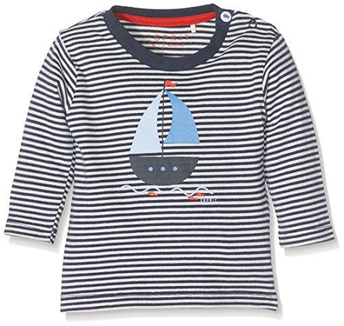Esprit Kids Unisex Baby T-Shirt, Blau (Navy 490), 68