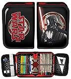 taschen-rucksack24 MÄPPCHEN 22 teilig FEDERMAPPE SCHULMÄPPCHEN SCHÜLERETUI gefüllt Star Wars (Modell 10)