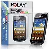 10 Pack Screen Guard Protectors For Samsung Galaxy W I8150 By Kolay