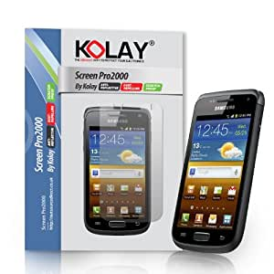 10 Pack Screen Guard Protectors For Samsung Galaxy W I8150 By Kolay