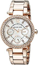 Michael Kors Analog Rose Dial Womens Watch - MK5616