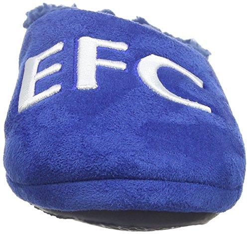 Bafiz Jungen Everton Home Pantoffeln Blau (Blue/Navy 34U)