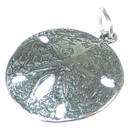Sand Dollar Ciondolo in argento ciondolo 925X 1Snapper o mare Biscotti sssc298