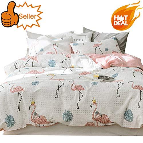 oroa Kinder Cartoon Bettbezug Set 3Stück Twin Queen Bettwäsche-Set für Kinder, baumwolle, Style 2, Twin (Blaue Bettwäsche-sets Queen Für Teens)