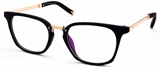 Stacle Uv Protected Rectangular Unisex Spectacle - (49|Black)