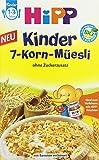 Hipp Kinder 7-Korn-Müesli , 6er Pack (6 x 200 g)