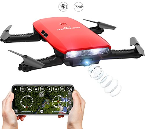 GoolRC One-handed Controller T47 6-Axis Gyro WIFI FPV Drone With Camera
