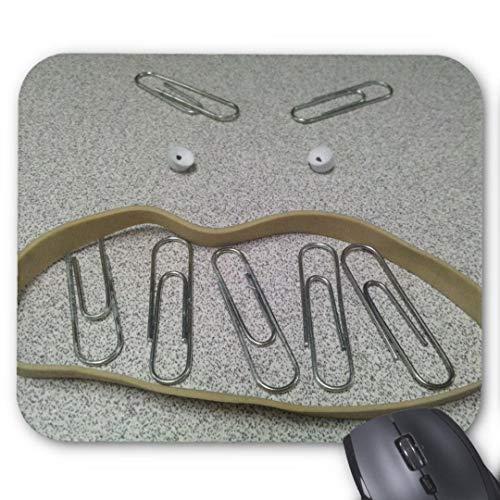 Mauspad 20*24cm Mousepad in Standard-Gr??e, rutschfest-w¨¹tend B¨¹robedarf Gesicht -