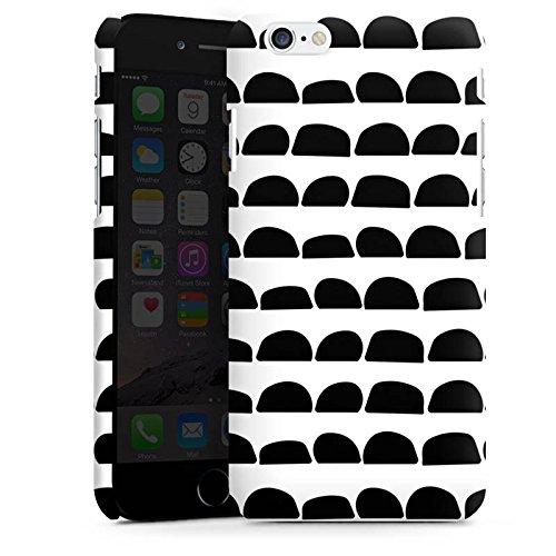 Apple iPhone SE Housse Outdoor Étui militaire Coque Pierres Noir et blanc Motif Cas Premium mat