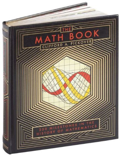 The Math Book (Sterling Milestones)