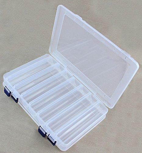 Plastikbox Angelbox Köderbox zubehörbox Angel Box TACKLEBOX  für Fische JCB201