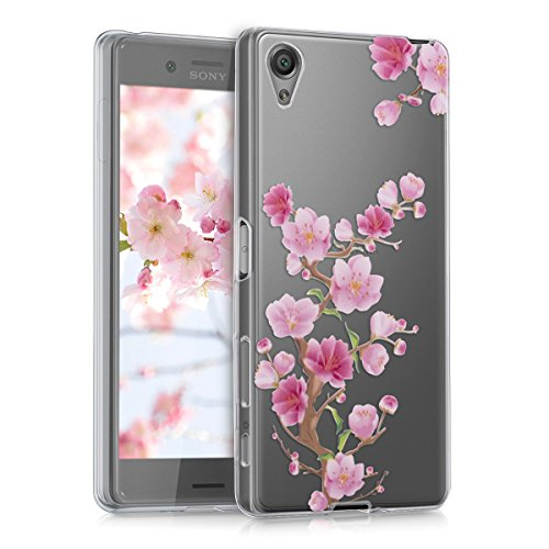kwmobile-crystal-tpu-silicone-case-for-sony-xperia-x-in-dark-pink-light-pink-transparent-design-cher