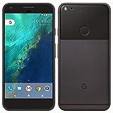 Google Pixel 128 GB - 12,7 cm (5 Zoll) Android GSM 4G LTE Factory entsperrt, internationale Version (keine Garantie) - Silberfarben