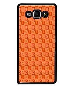 PrintVisa Designer Back Case Cover for Samsung Galaxy A8 (2015) :: Samsung Galaxy A8 Duos (2015) :: Samsung Galaxy A8 A800F A800Y (Matty Box Round Design Texture Matefinish Branch)