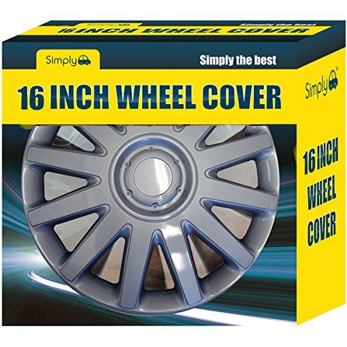 simplement Swt140p pour roue de voiture, 40,6 cm Boîte de 4 Garnitures,