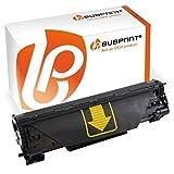 Bubprint Toner kompatibel für HP CF283A 83A für Laserjet Pro MFP M125A M125NW M126A M127FN M127FW M128FN M201DW M225DN M225DW M226DN M226DW Schwarz