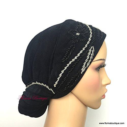 Florina Boutique - Fichu - Femme Black/Silver - AL